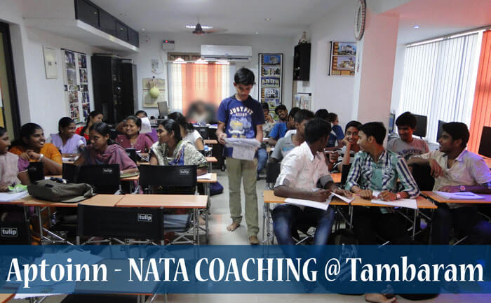 the best nata coaching institute in & around tambaram